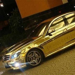 Altın Kaplama Otomobiller