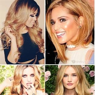 Altın Sarı Saç Rengi Ve Modelleri 2014