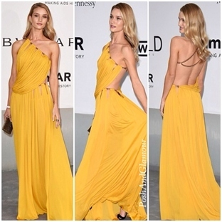 amFar Gala Cannes 2014:Rosie Huntington-Whiteley