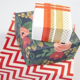 Anneler Günü için kağıttan hediye kutusu yapımı