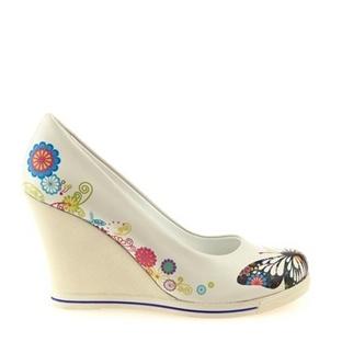 Baskılı Gelin Ayakkabıları