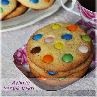 BONİBONLU KURABİYE (cookies)