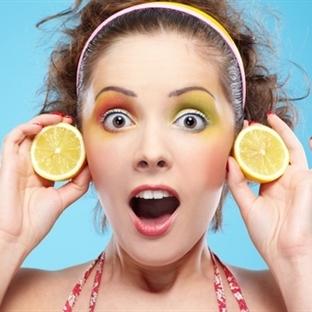 Cilt Bakımında Limon Kullanın
