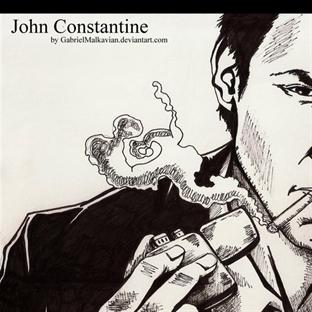 Constantine dizisinin ilk fragmanı yayınlandı.