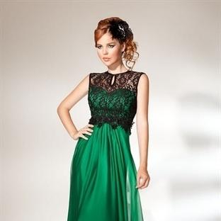 Dantelli Abiye Elbise Modelleri 2014