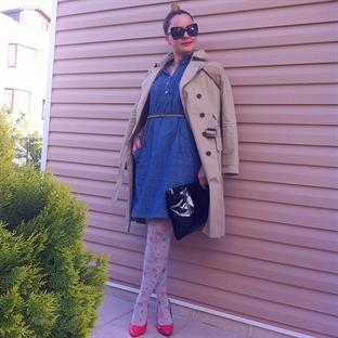 Denim Elbise Modası ve Stilim