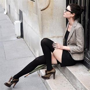Diz Üstü Çorap Nasıl Giyilir