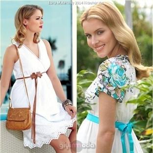 Ebru Hamile Giyim 2014 Yaz Modelleri