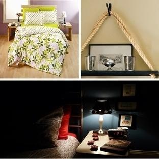 En Basit Şekliyle Yatak Odası Dekorasyonu