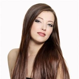 En güzel bayan düz saç modelleri