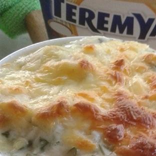 Enginarlı Peynirli Fırın Makarna