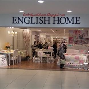 English Home'da Neler Varmış Neler