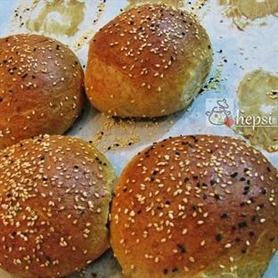 evde hamburger ekmeği yapmak zor değil