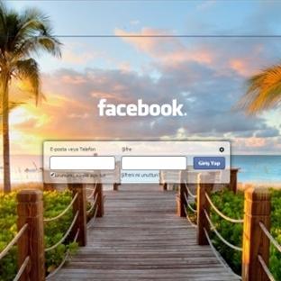 Facebook Ekranını Değiştirme