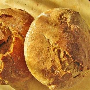 fırında tencerede yoğurmasız tencere ekmeği tarifi