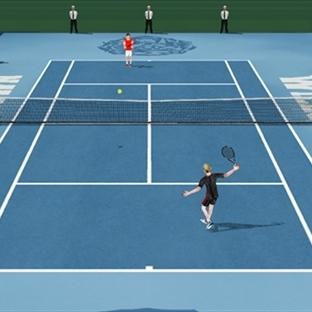 Flick Tennis 3D Android Tenis Oyunu