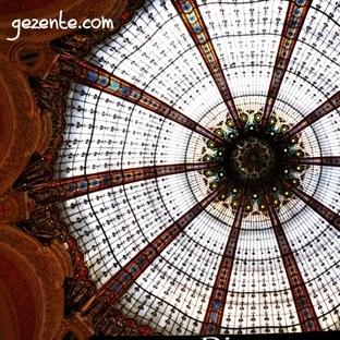 Galeries Lafayette'teyiz…