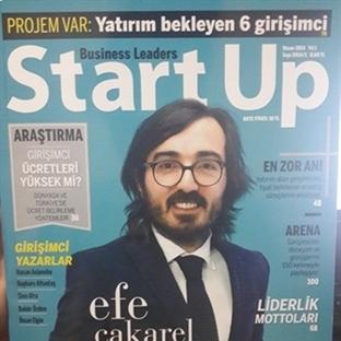 Girişimcileri İlgilendiren Yeni Bir Dergi: StartUp