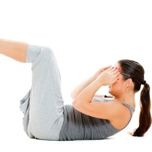 Göbek Eriten Egzersizler