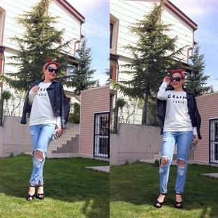 Haftasonu Modası ve Yırtık Jeans Trendy