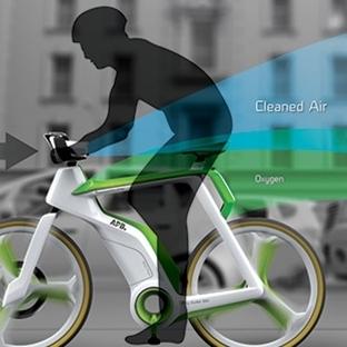 Havayı Temizleyen Bisiklet