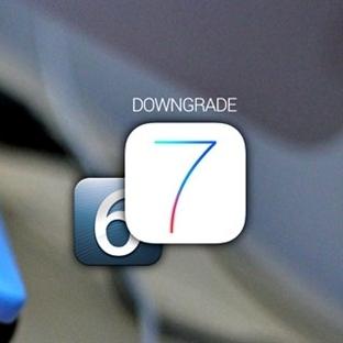 iOS 7.1.1 / 7.1 versiyonunu iOS 7.0.6′ya düşürme
