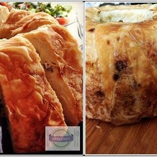 Kek Kalıbında Makarnalı Börek