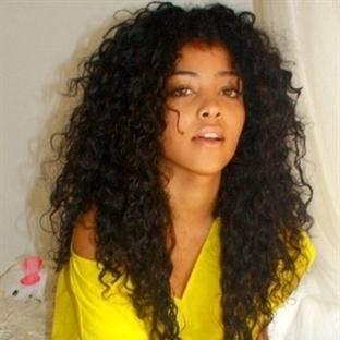 Kıvırcık Saçları Kalıcı Düzleştirme (Doğal Yöntem)
