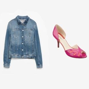 Kot Ceket ve Topuklu Ayakkabı ile Pazartesi Stili