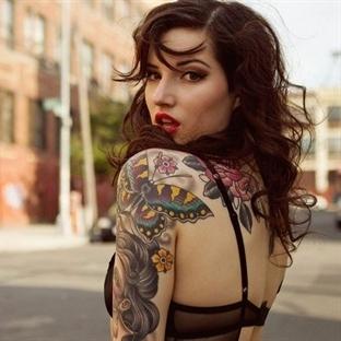 İlginç Bayan Dövme Modelleri