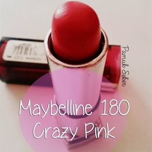 Maybelline Color Sensational 180 Crazy Pink