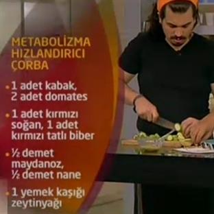 METABOLİZMA HIZLANDIRICI ÇORBA