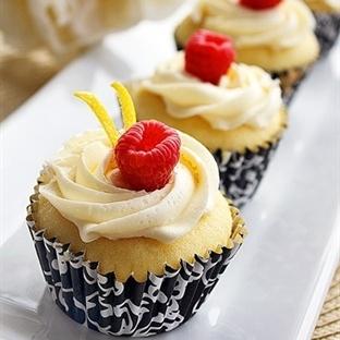 Meyveli cupcake