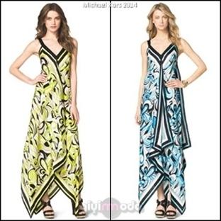 Michael Kors 2014 Elbise Modelleri
