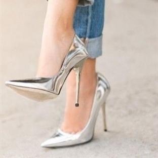 Moda: Metalik Ayakkabı
