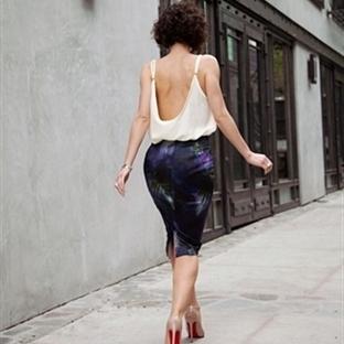 Moda: Sırt Dekoltesi