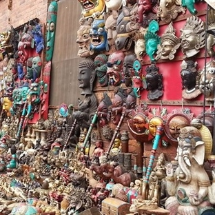 Nepal'de Alışveriş Keyfi