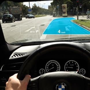 Otomobillerde Artırılmış Gerçeklik