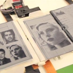 PaperFold Katlanabilir  E-İnk Akıllı Telefon