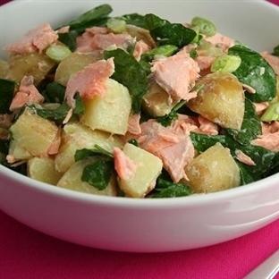 Patatesli Tonbalığı Salatası Tarifi