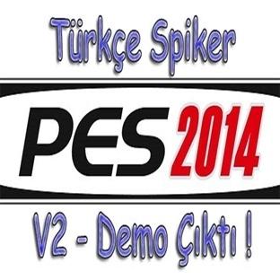 PES 2014 Türkçe Spiker Demo V2