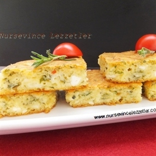 Peynirli Kahvaltı Keki Tarifi