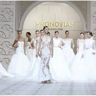 Pronovias 50.yıl kutlamalarında göz kamaştırdı