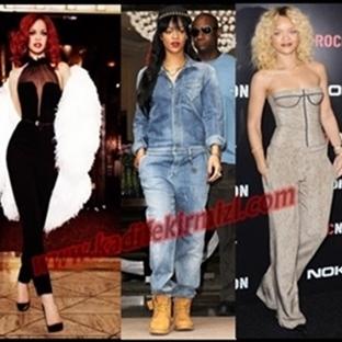 Rihanna'nın Göz Alıcı Tulum Modelleri