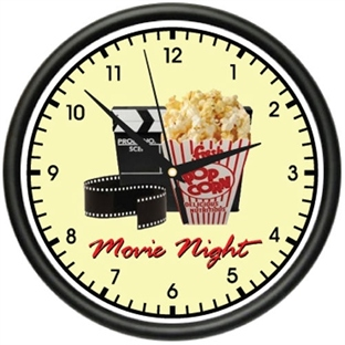 Saat ve Sinema Tutkunları Bir Arada