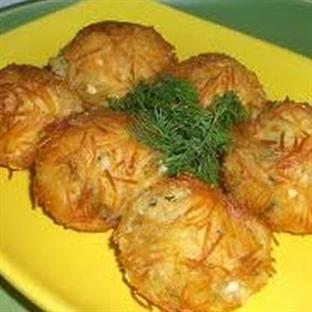 Saçaklı Patates Topları