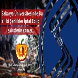 Sakarya Üniversitesinde Şenliker İptal Edildi