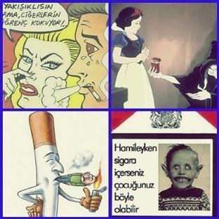 sigara karşıtı yayınlar çok itici değil mi?
