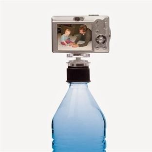 Şişe Kapağı Fotoğraf Makinesi Tripod