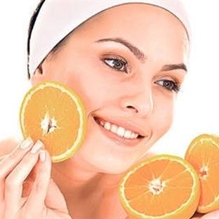 Sivilceler için portakal maskesi